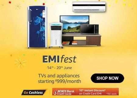 Amazon EMI Offers June