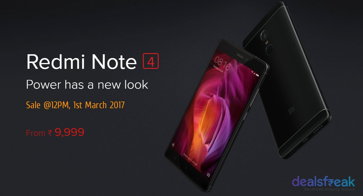 redmi-note-4-sale-march-1