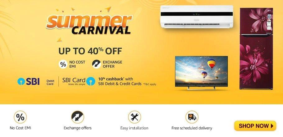 Amazon Summer Carnival