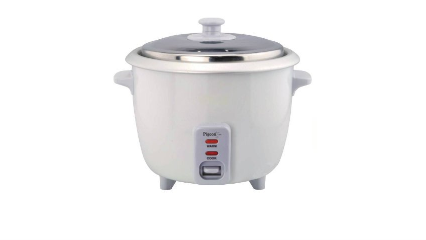 Pigeon Electric Rice Cooker 1 Ltr With Steaming Feature