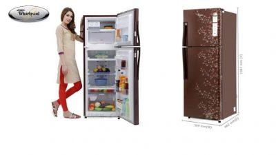 Whirlpool 265 L refrigerator