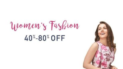 amazon women fashion - 40-80% off