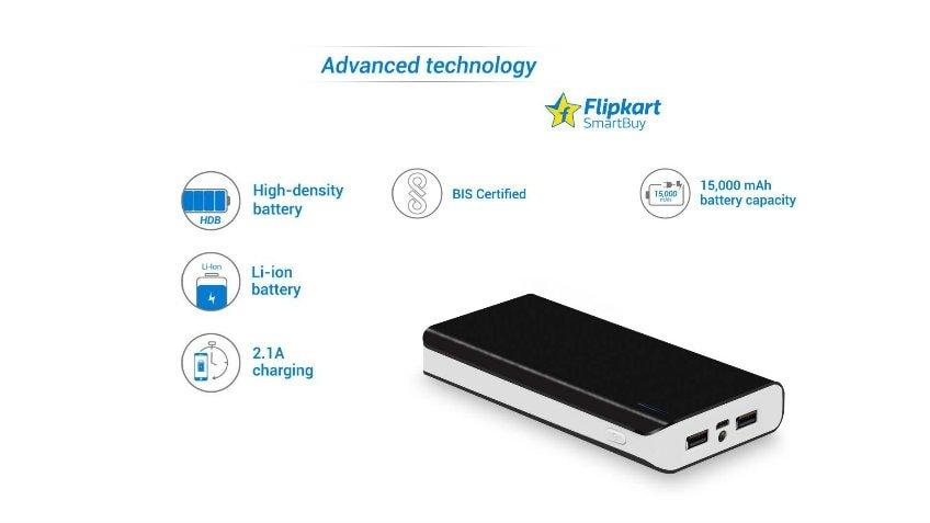 flipkart smartbuy power bank el2215