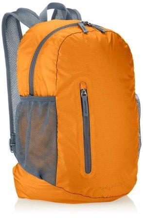 AmazonBasics Ultra thin Foldable Day Pack 35 L (Orange)
