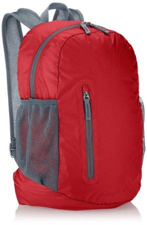 AmazonBasics Ultra thin Foldable Day Pack 35 L (Red)