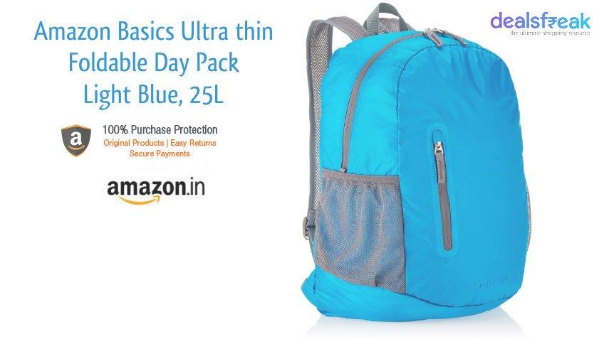 AmazonBasics Ultra thin Foldable Day Pack