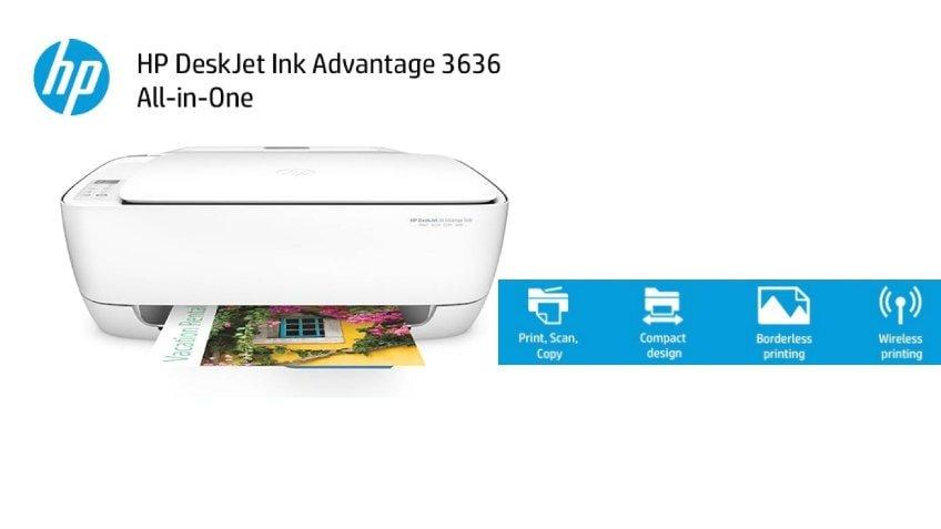 HP DeskJet 3636