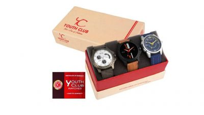 Youth Club Analog Watch