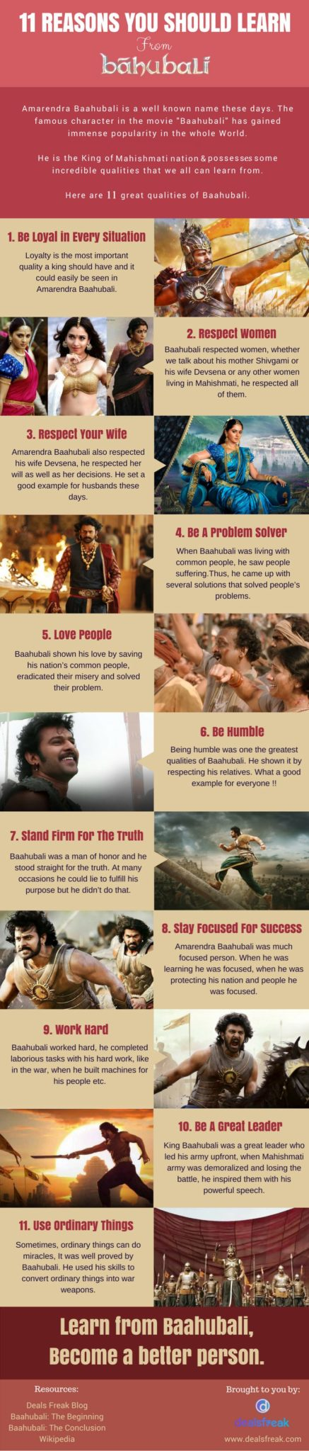 11 Reasons You Should Learn From Baahubali