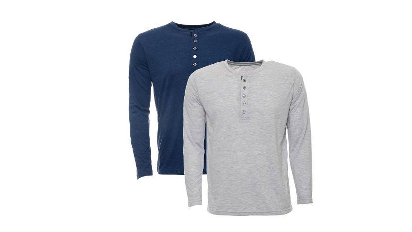 b46f4499bb300 Aarbee Men's Cotton T-Shirt – (Combo of 2) at Best Price Online