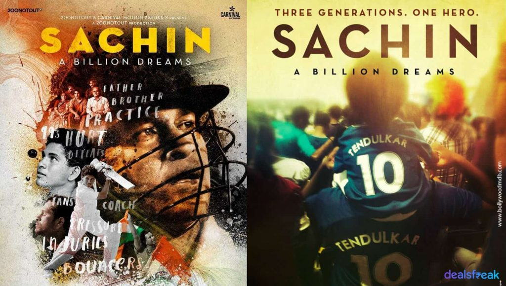 Sachin a billion dream movie poster