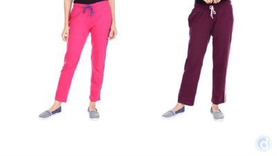 Buy 2 Women Track Pants at Rs 299