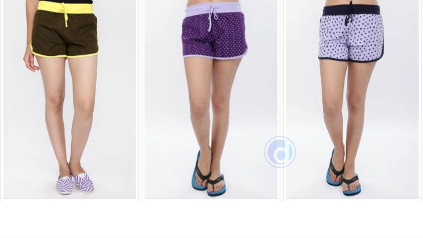 Buy 3 Women Shorts at Rs 279