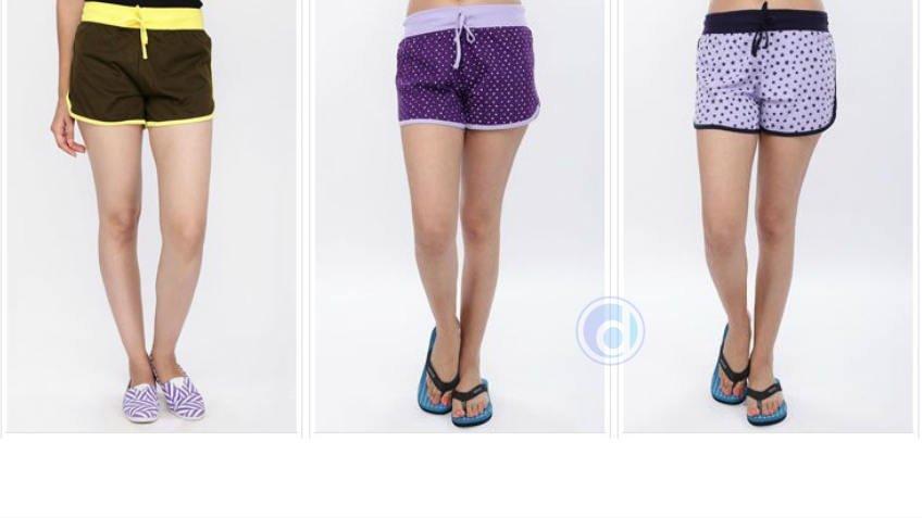 Buy 3 Women Shorts at Rs 279