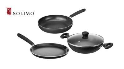 Solimo Non-Stick Kitchen Set
