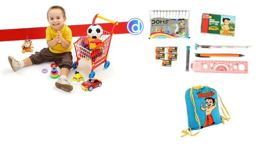 kids toys and stationery online under rs 99
