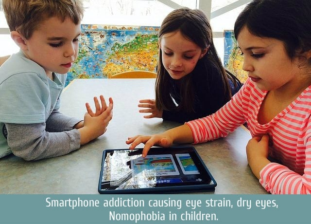 smartphone addiction in children