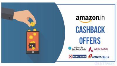 Amazon Cashback Offers