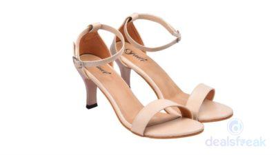 Jade Women Beige Heels