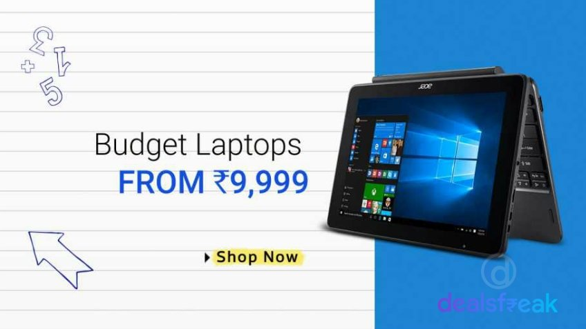 Laptops From Rs. 9999
