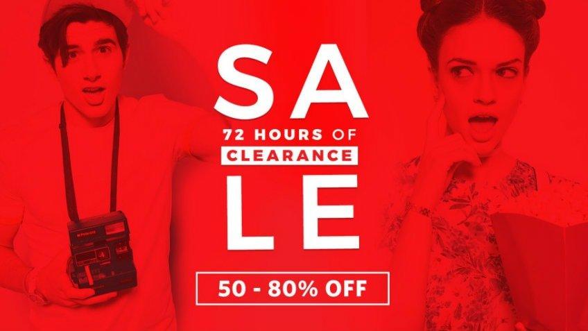 myntra clearance sale