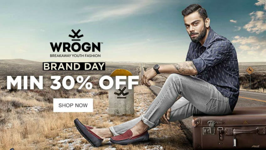 Wrogn Brand Day Sale