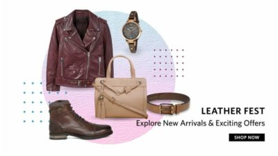 Myntra Leather Fest