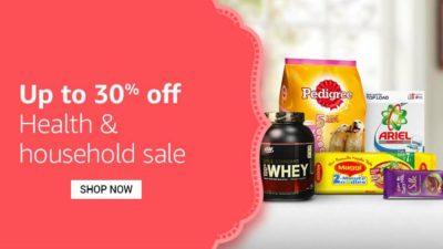 Health & Household Sale