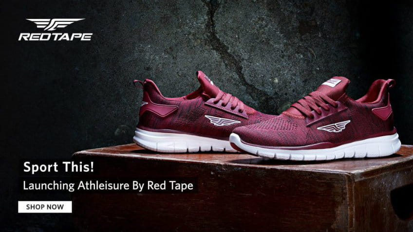 Red Tap Sports Shoes