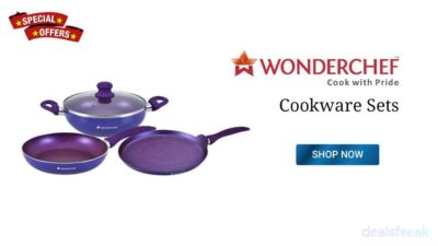 Wonderchef Cookware Sets