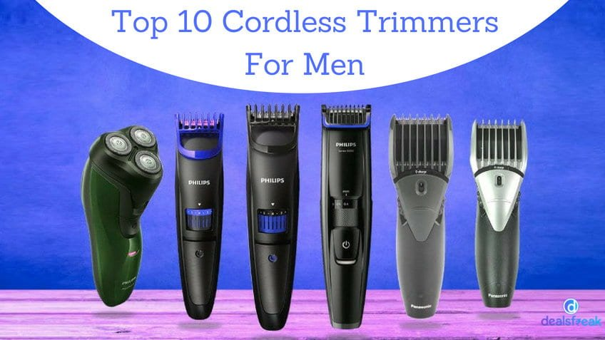 top 10 trimmers for men