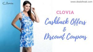 cashback offers from clovia