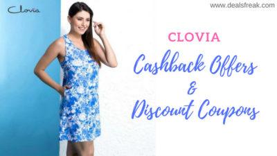 cashback offers from clovia