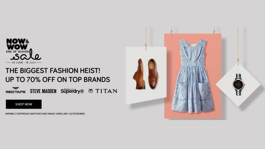 tata cliq fashion sale featured