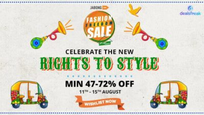 jabong freedom sale