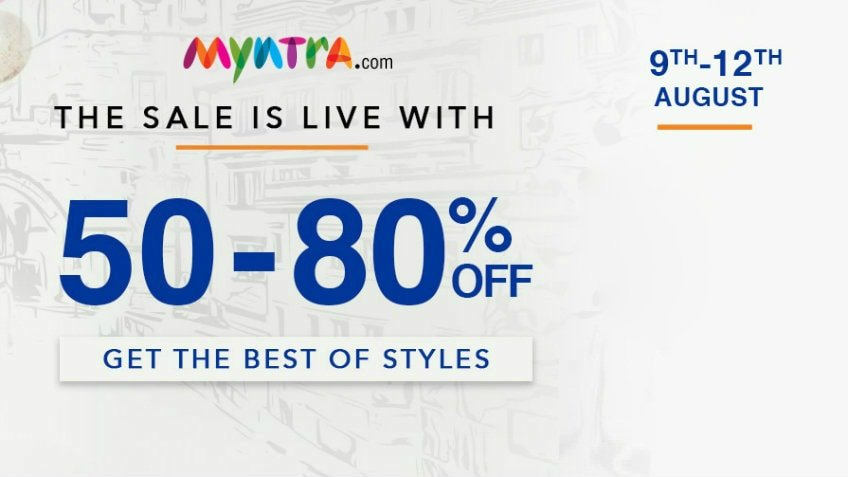 right to fashion sale myntra