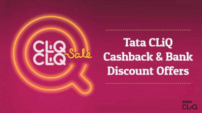 tata cliq cashback offers