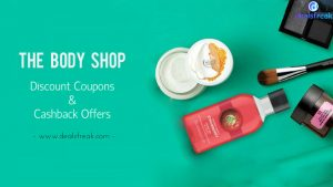 the body shop discount and cashback offers