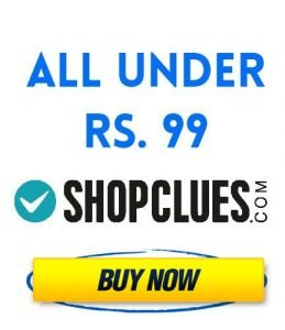 Everything Below Rs 99 Hot Shopping Deals Save Upto 80