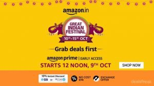 Amazon-Great-Indian-Sale 10th-15th-Oct-2018