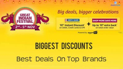 amazon great indian festival sale november