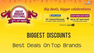 amazon great indian festival sale november