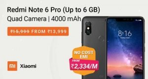 redmi note 6 pro new deal