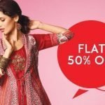 flat 50 percent off on soch store