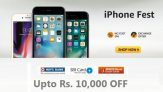 Apple iPhone Fest – Best Discount & Cashbacks (Save Upto Rs. 7500)