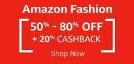 Amazon Fashion Store: Get Everything Under Rs. 599 (Budget Fashion Deal)