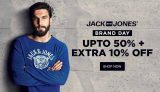 Jack & Jones Sale: Original T-shirts, Jeans & Apparels (Min 50% OFF)