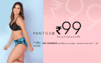 Clovia 99 Store, Everyday 5 Panties Set @Rs 99 Each (Limited Stock)