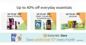 Everyday Essentials, Baby Products, Grocery Etc (Up to 40% OFF)