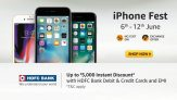 Apple iPhone Fest – Best Discount & Cashbacks (Save Upto Rs. 5000)